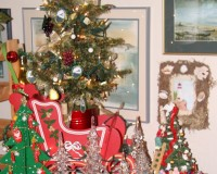 Christmas in the winery – er… house