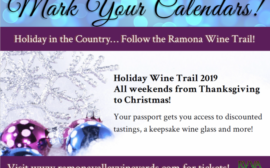 Holiday Wine Trail 2019