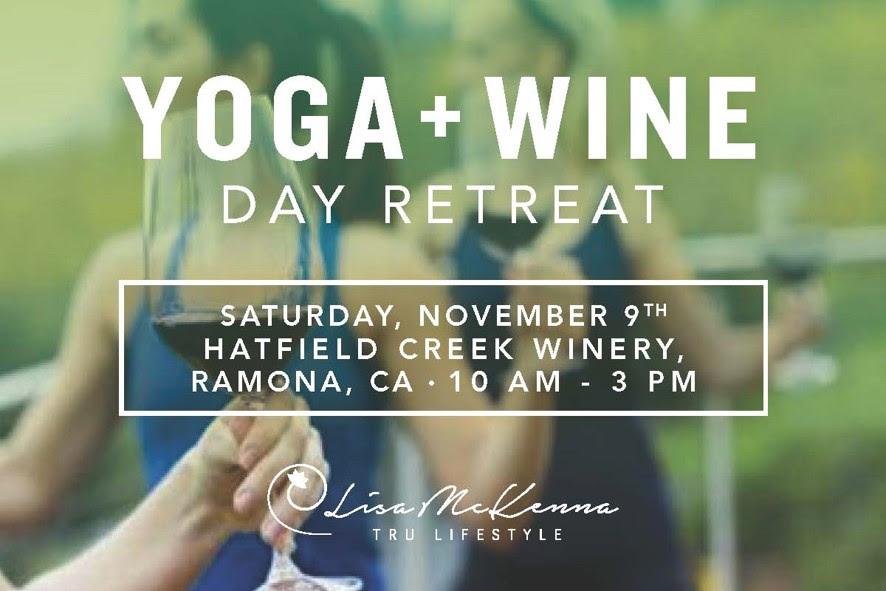November 9 – Yoga Wine Day Retreat