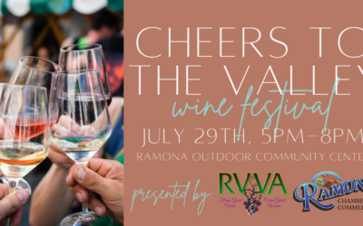 JULY 29 – Cheers to the Valley Wine Festival returns!